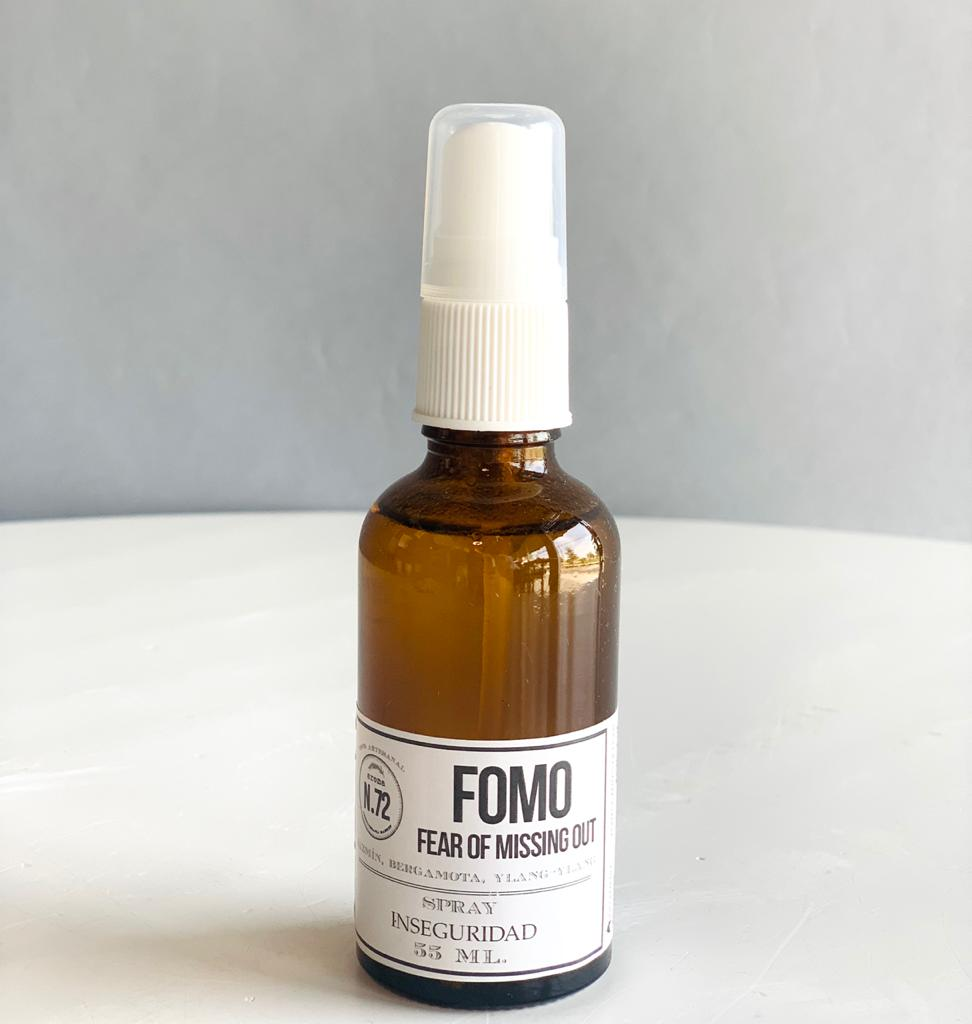 FOMO - FEAR OF MISSING OUT (Aromaterapia en spray)