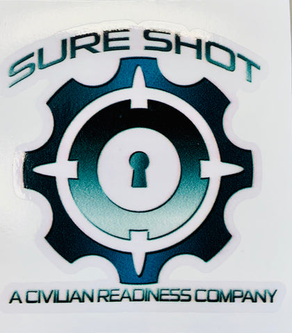 Sure Shot Sticker