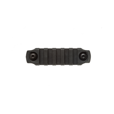 BCM® 3 inch Picatinny Rail Section, Nylon - Black (M-LOK® Compatible*)
