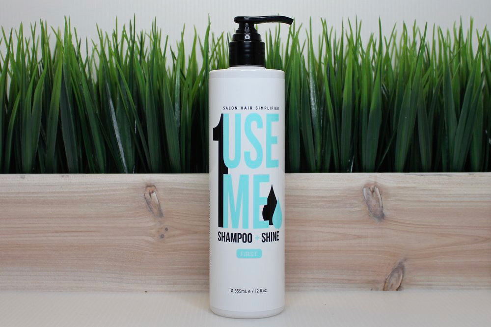 Use Me Hair Rebalancing Shampoo + Shine Organic Hair Product