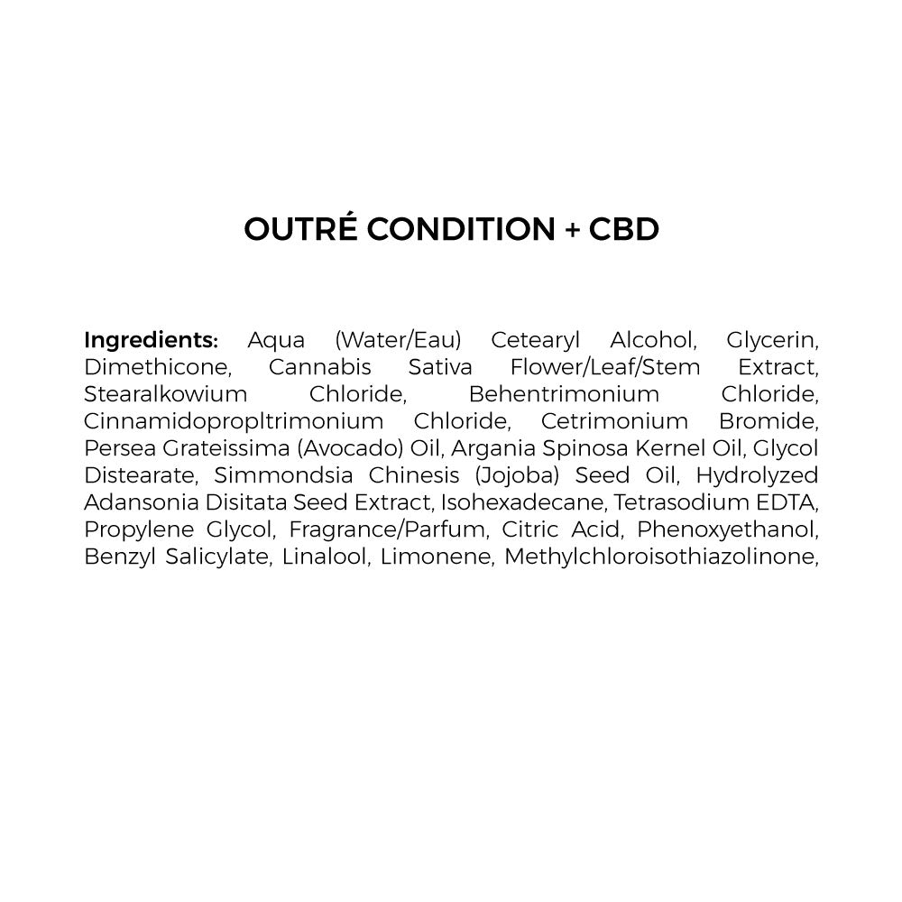 cbd conditioner ingredients list