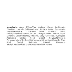cbd shampoo ingredients