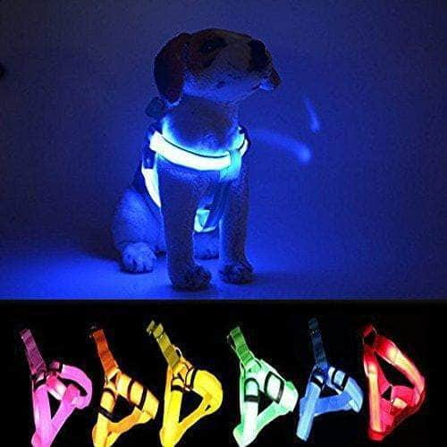 Anti-lost Flashing LED Harness Collar