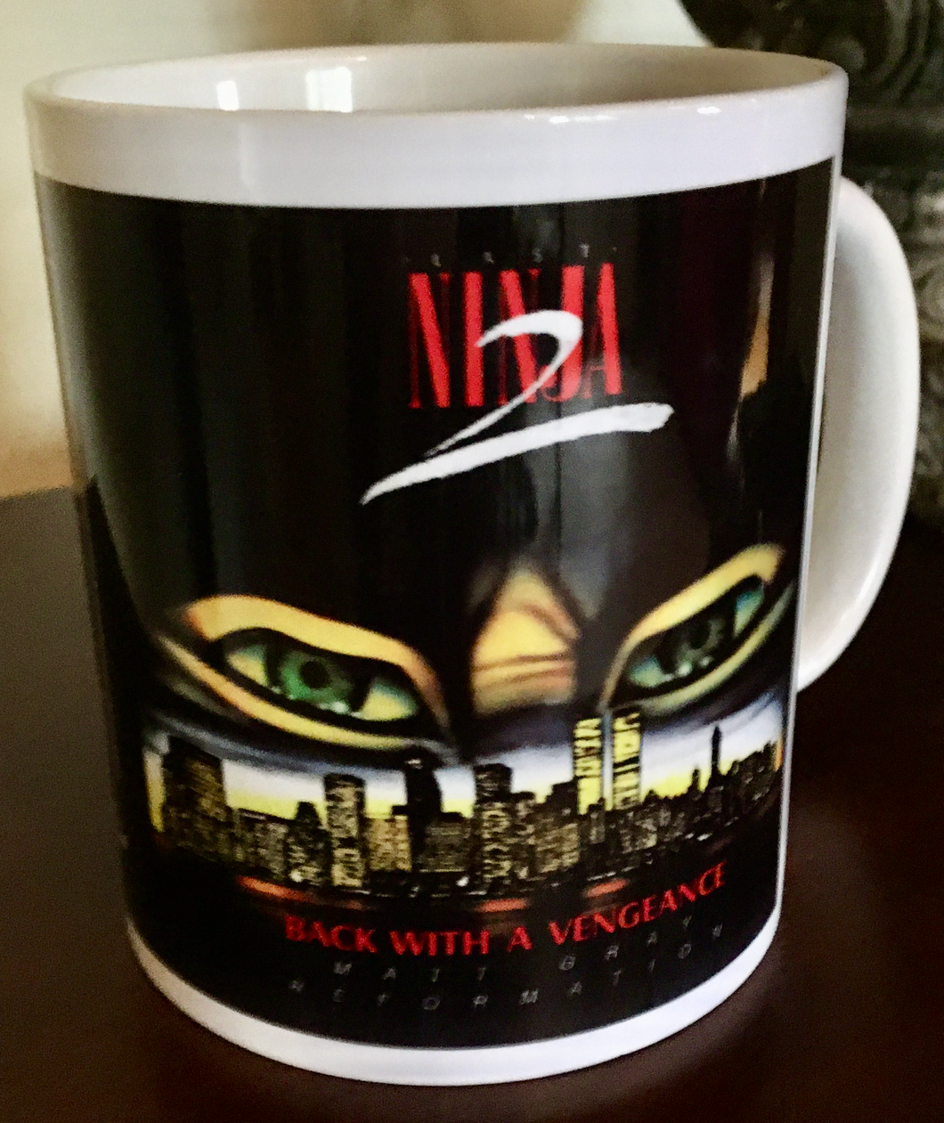 Reformation Last Ninja 2 Official Mug
