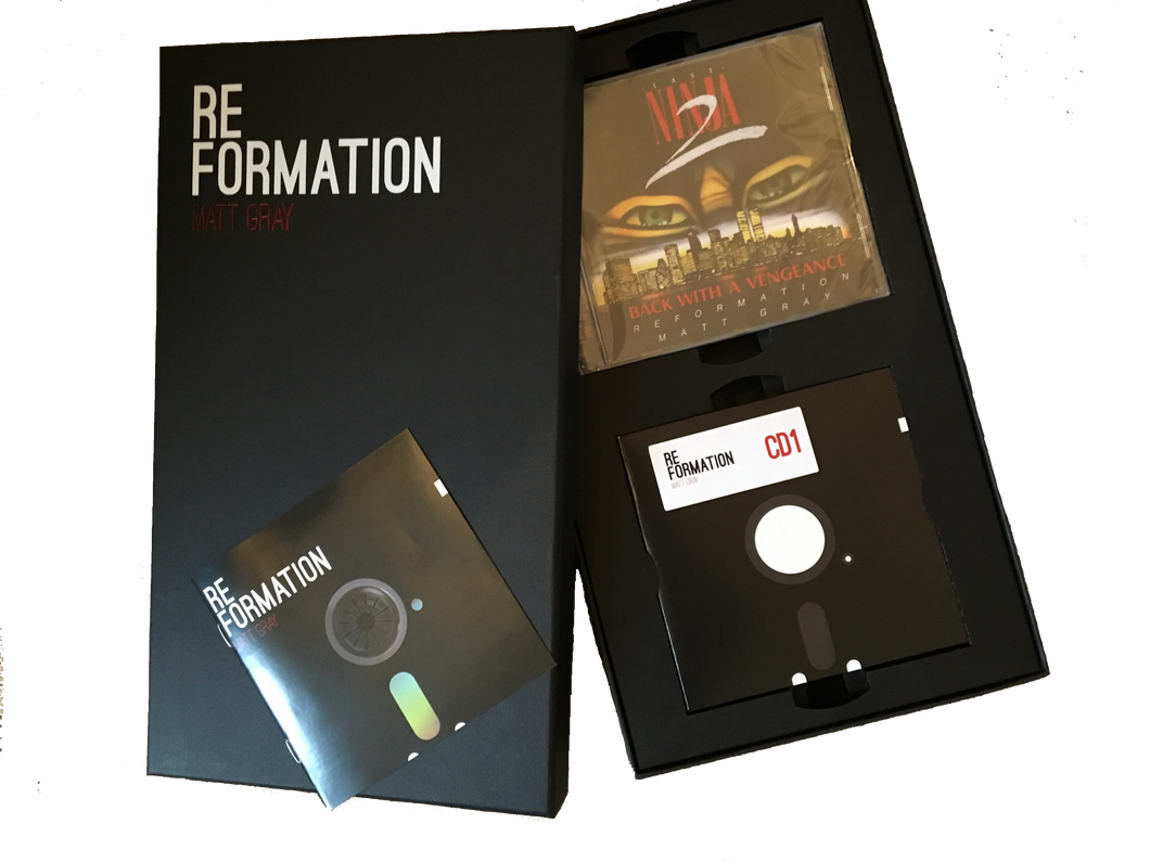 Reformation Last Ninja 2 RETRO PACK FULL BOXSET (CDs & Downloads)