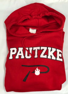 Pautzke Cotton 'P Hook' Hoodie - Red