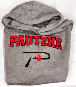Pautzke Cotton 'P Hook' Hoodie -  Grey