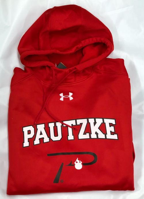 Under Armour - Pautzke 'P Hook' Hoodie - Red