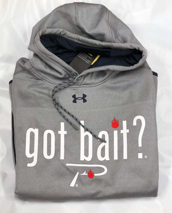 Under Armour - Pautzke 'Got Bait?' Hoodie - Grey