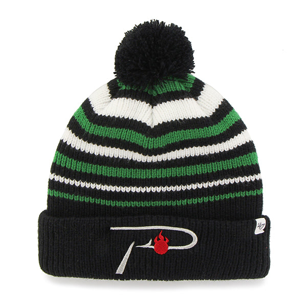 Pautzke Green/Black Knit Beanie