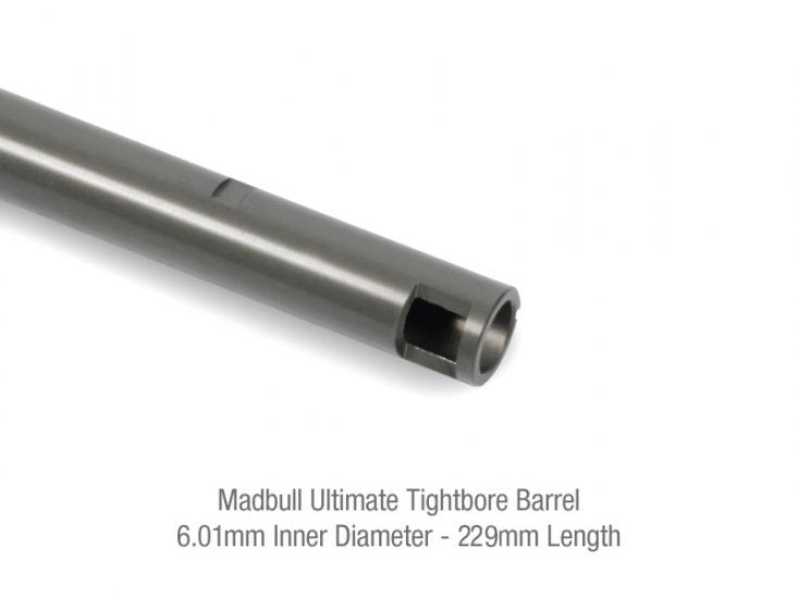Madbull Airsoft 6.01mm Ultimate Tightbore Barrel 7075 True Aircraft Alloy