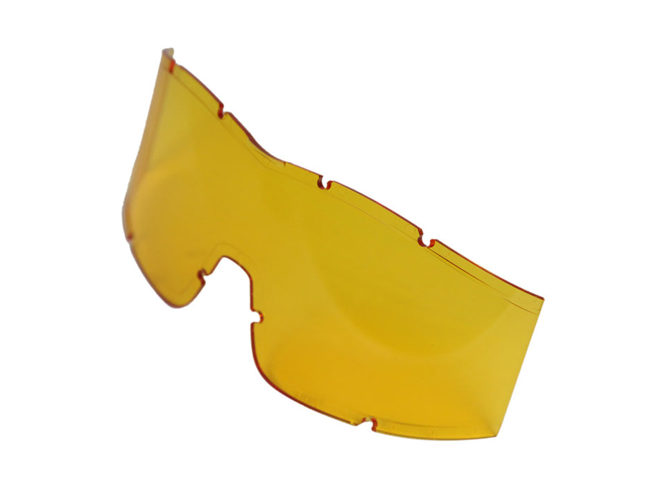 Arena Flakjak Tactical Airsoft Goggle Lens in Yellow