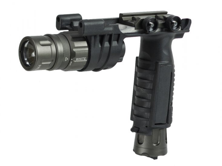 Bravo Airsoft V2 LED Weapon Light in Black
