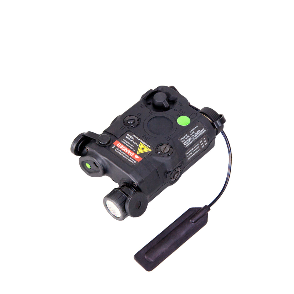 BRAVO Airsoft P15 Flashlight and Green Laser Combo with Pressure Pad