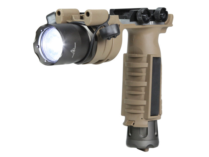 Bravo Airsoft Flash light Weapon Mount in TAN