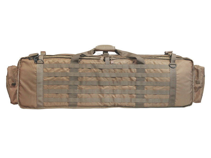 Bravo Airsoft Gun Case for Squad Automatic Weapons in Khaki