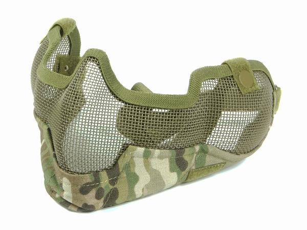 BRAVO Tac Gear V2 Strike Metal Mesh Mask