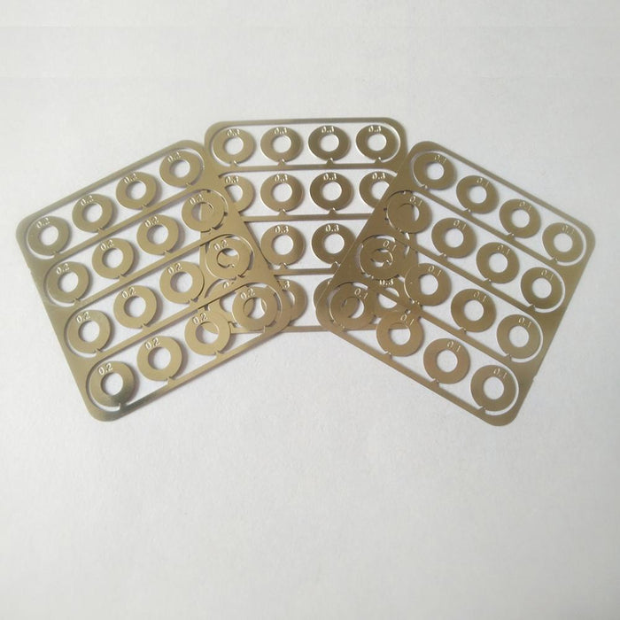 CNC Production 48pcs Shim Set (.1mm/.2mm/.3mm) (BOP-01)