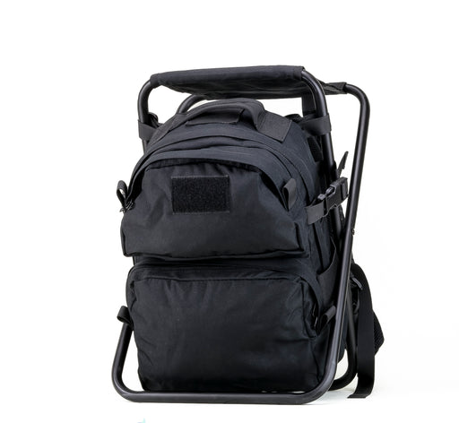 Defcon Gear Back Pack Chair in Black