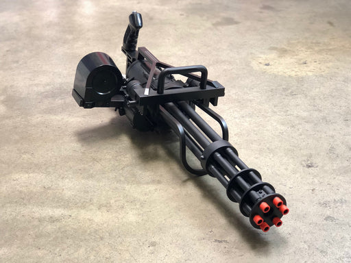 Echo1 Full Size M134 Minigun front view