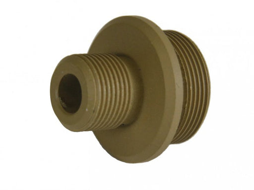 Echo1 M28 Sniper Rifle Barrel Extension Adapter in Tan - GEN. 2