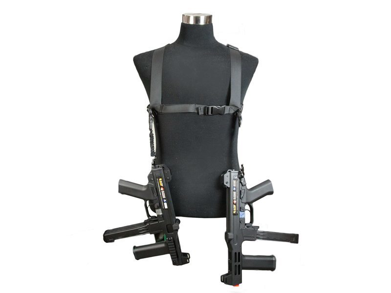 Echo1 Tactical Dual Sling System in Black