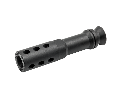 Metal 14mm Negative (CCW) Flash Hider- MG Style