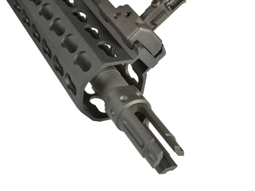 Knight's Armament Airsoft Fully Licensed KAC QDC 3-Prong Flash Hider for QDC Barrel Extension - CCW
