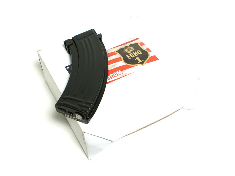 "Echo1 AK ""Dogs of War"" Mid Cap Magazine (130rnds) Box of 8"