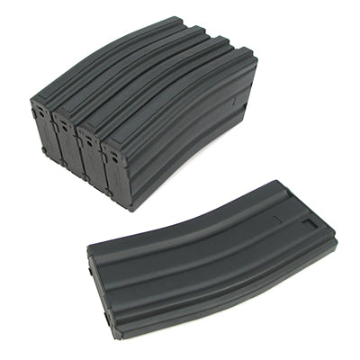 King Arms M16 Metal 120 rounds Magazines Box Set (5pcs)