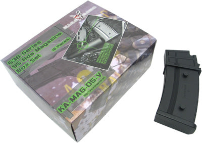 King Arms SM 95 rounds Magazines Box Set (5pcs)