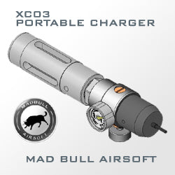 MadBull Airsoft Portable 12g C02 Charger W/ Regulator (XC03)