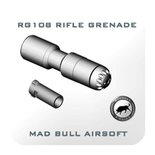 Madbull Airsoft RG108 BB Shower Shell - 108rnds