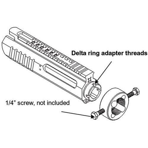 Madbull Airsoft Delta Ring Tool Modification - PRO