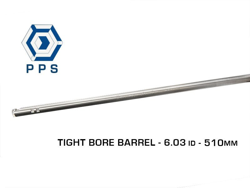 PPS Stainless Steel 6.03mm Tight Bore Barrel - 510mm