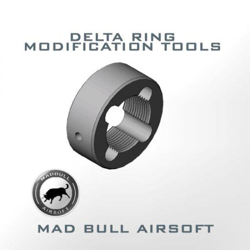 Madbull Airsoft Delta Ring Tool Modification - STANDARD