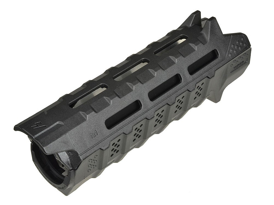Strike Industries Viper MLok Carbine Hand Guard with Black Heat Shield in Black