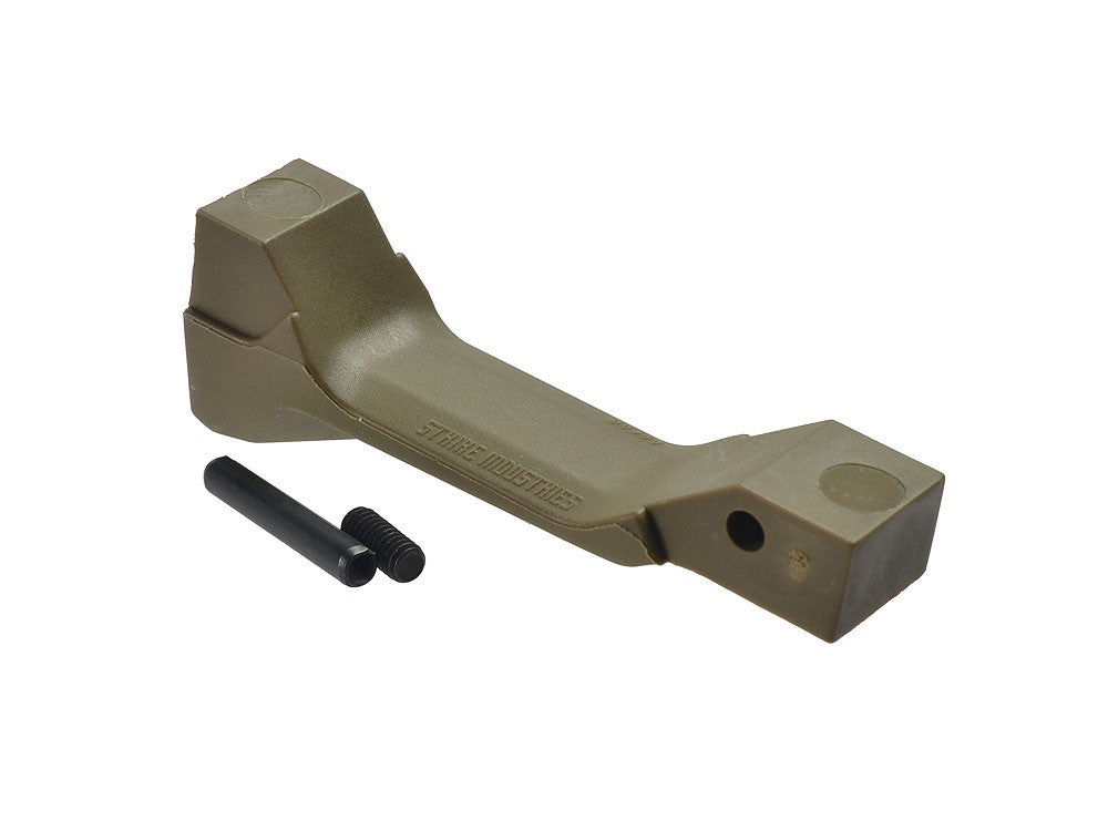 Madbull Airsoft Strike Industries Cobra Fang Magwell Assist Trigger Guard in Coyote Brown