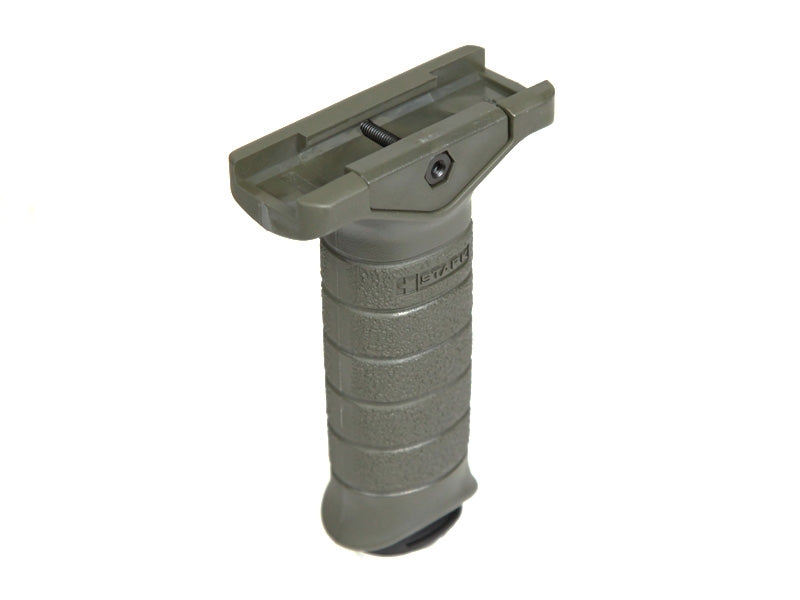 Madbull Airsoft Stark Equipment Vertical Foregrip in OD Green