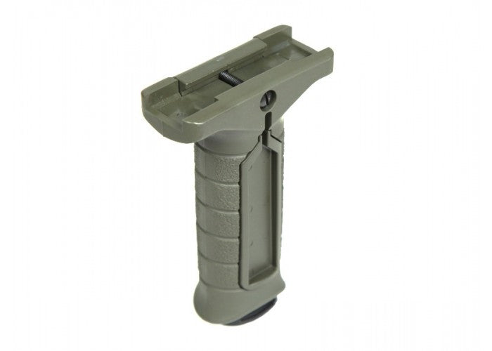 Madbull Airsoft Stark Equipment SE3 Vertival Foregrip with Switch Pocket in OD