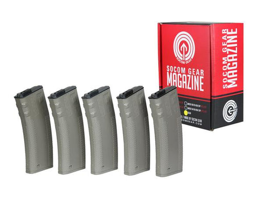 Socom Gear TROY 190rnd Box Set of 5 Magazine