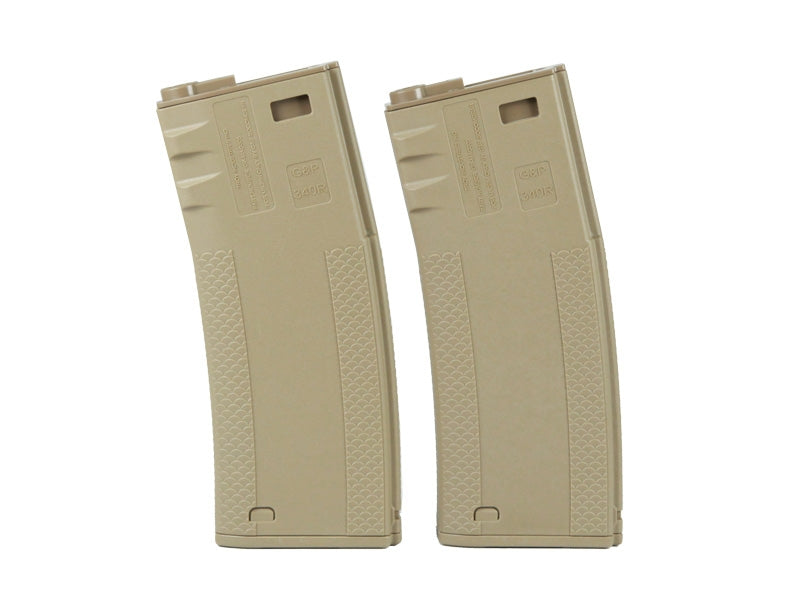 Socom Gear Troy 340rnds Battle Mag in Dark Earth -2pk