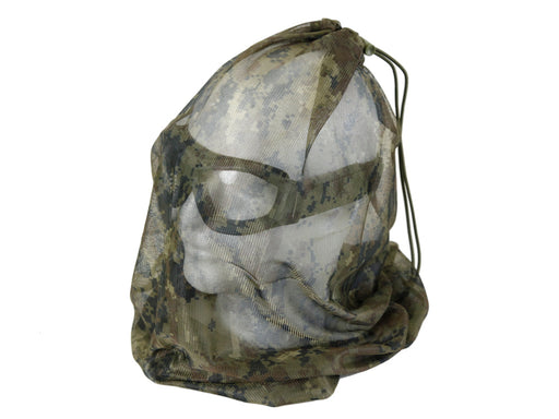WesGear Camo Head Net - Woodland Digital
