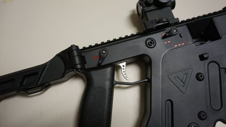 Speed Airsoft Kriss V Triggers