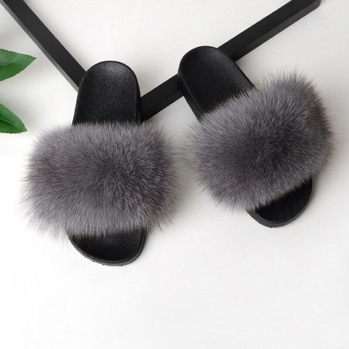 Luxury Fur - Middle Gray