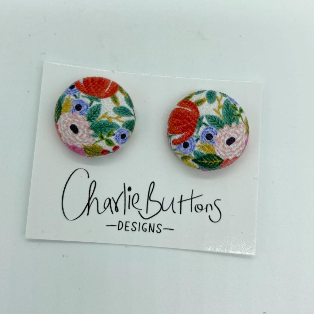 # Floral Studs #51
