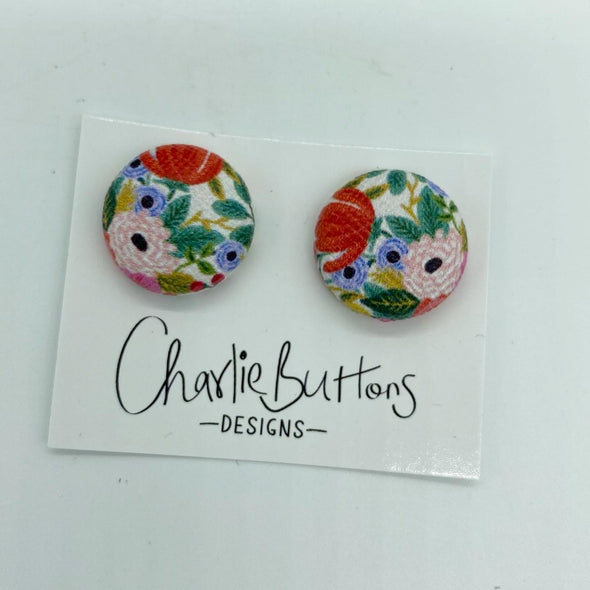 # Floral Studs