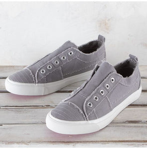Corky's Grey Babalu Shoes