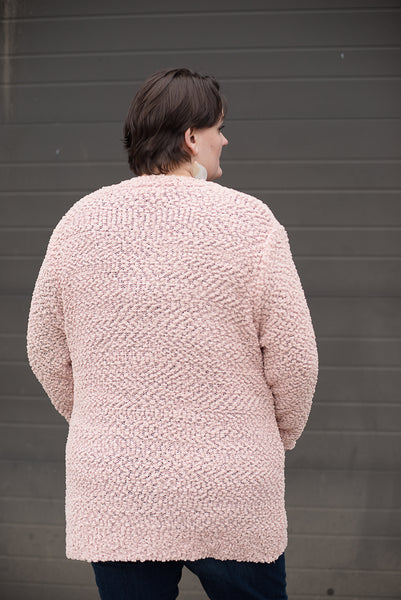 What A Blush Dream Popcorn Cardigan