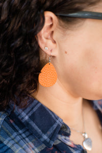 Pumpkin Itty Bitties Earring
